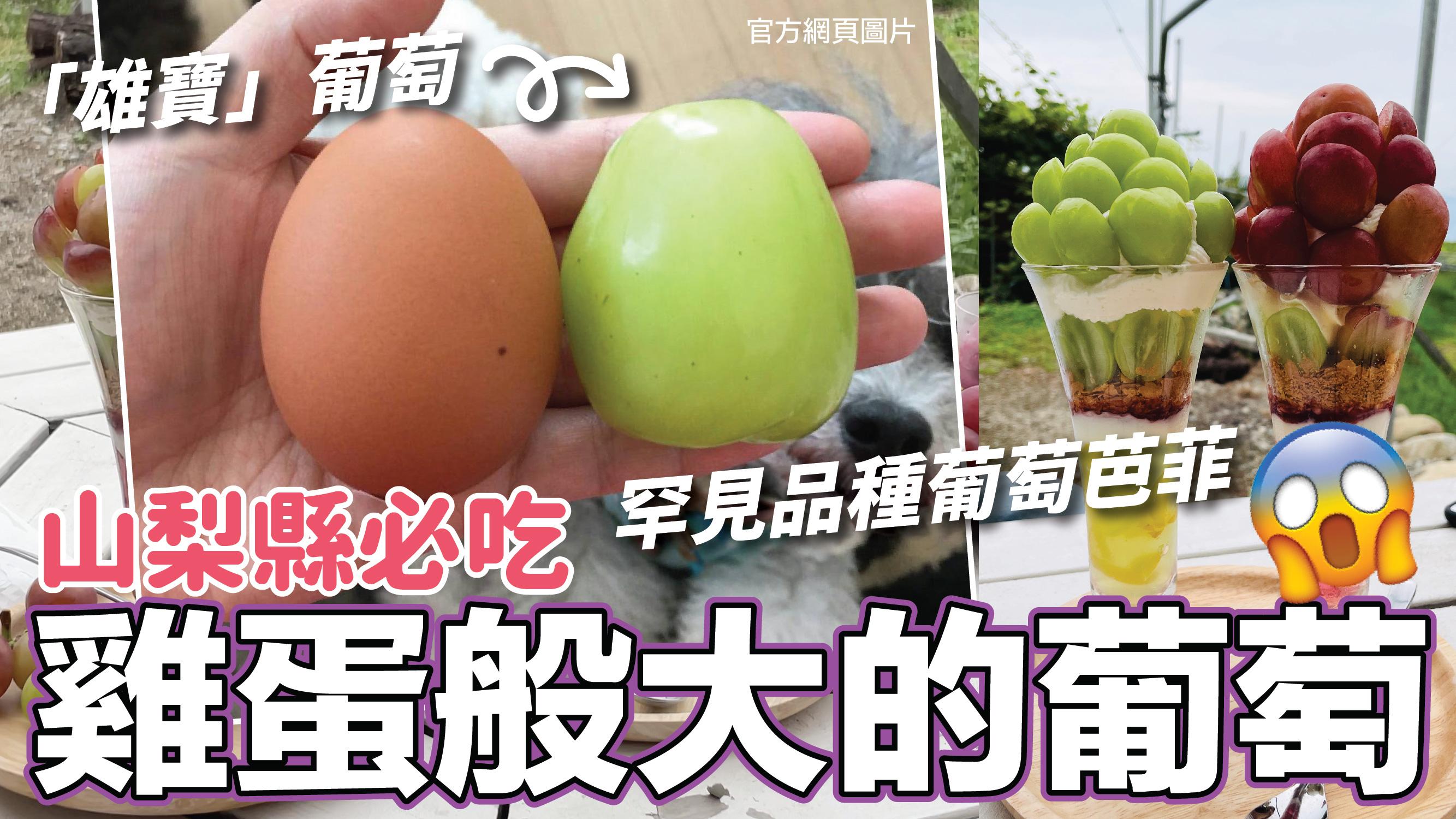 東京近郊山梨縣一日遊|必吃罕見品種水果芭菲,跟雞蛋一樣大的「雄寶」葡萄!|打卡美景清里TERRACE|熱菇日本