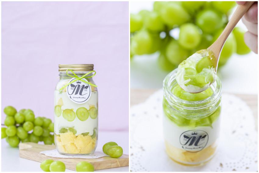 開幕熱銷3萬7千瓶!日本話題,宇都宮玻璃罐裝提拉米蘇,「Jersey Mou Mou」麝香葡萄新口味,期間限定發售!