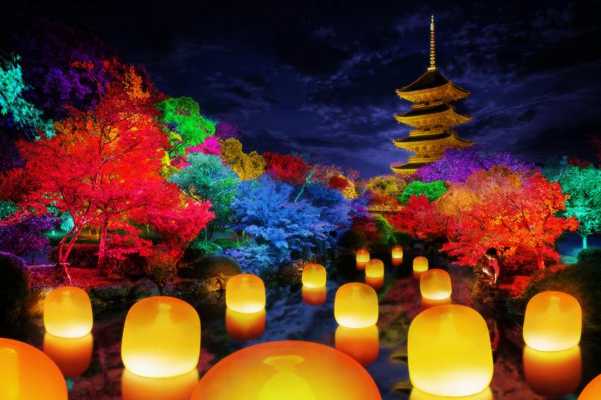 teamLab進軍京都最古老寺院「東寺」!未開展就引爆話題,將掀起一場古今融合的視覺饗宴