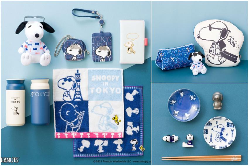 日雜品牌Afternoon Tea LIVINGX史努比聯名新品療癒登場!「史努比遊東京」系列生活雜貨,超生火!