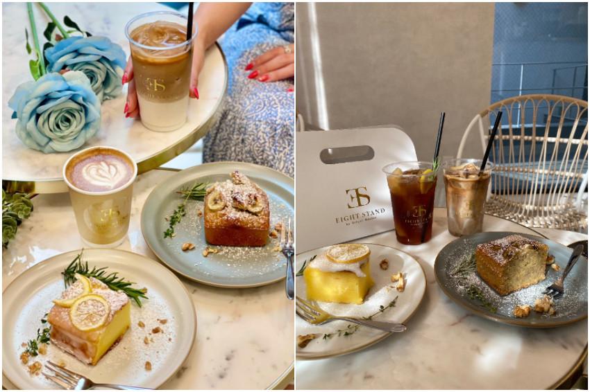 一定要拍一張手提咖啡網美照!日本社群熱議!東京外苑網美咖啡店「EIGHTSTAND by gingergarden」,自助打卡必去!