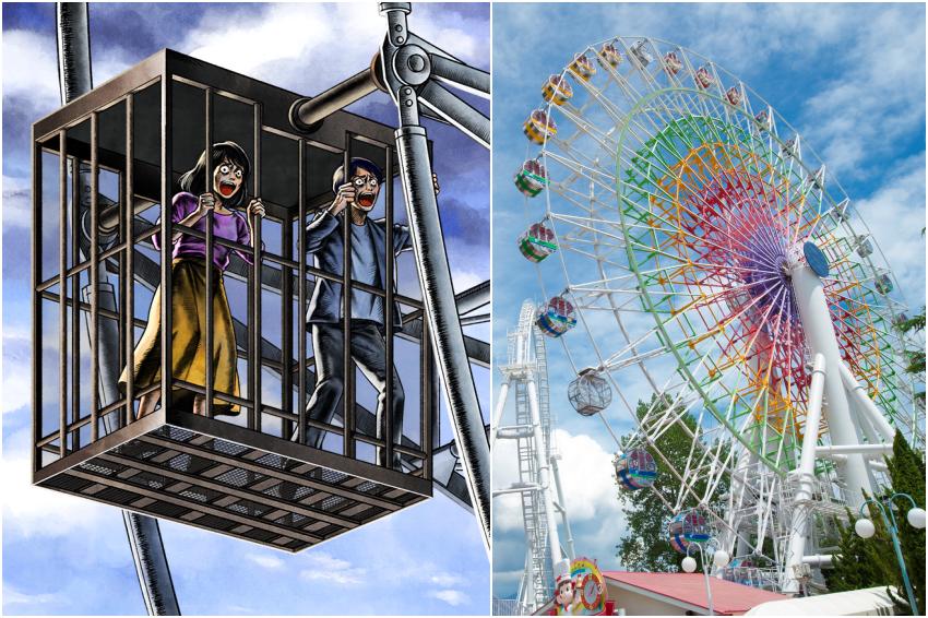 超有事的「牢籠摩天輪」你敢搭嗎?富士急樂園推出怪奇新設施,膽小者勿挑戰!