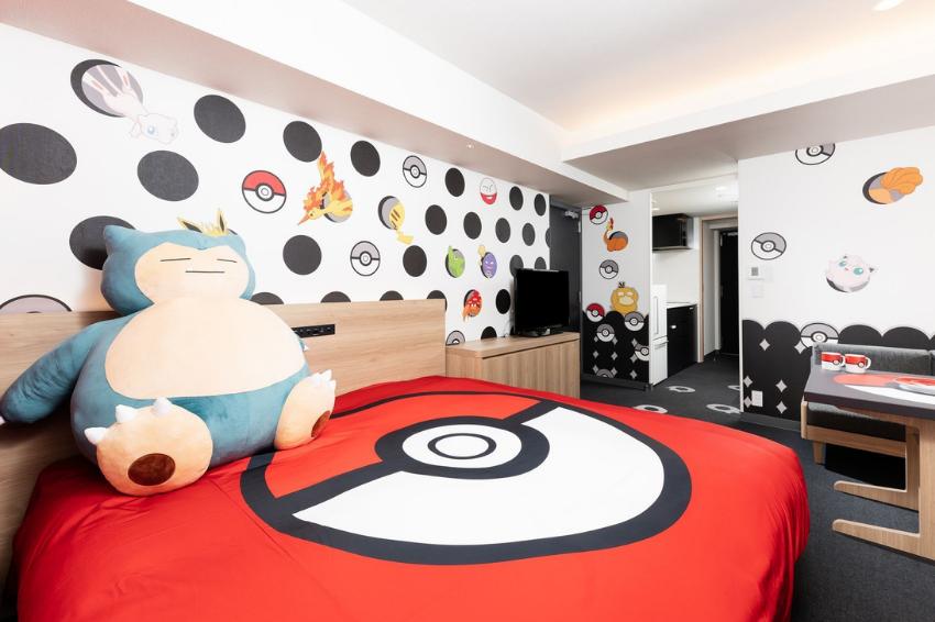 日本寶可夢主題房就在這6個地方!超大卡比獸伴你入眠,入住還有精緻贈品可拿!