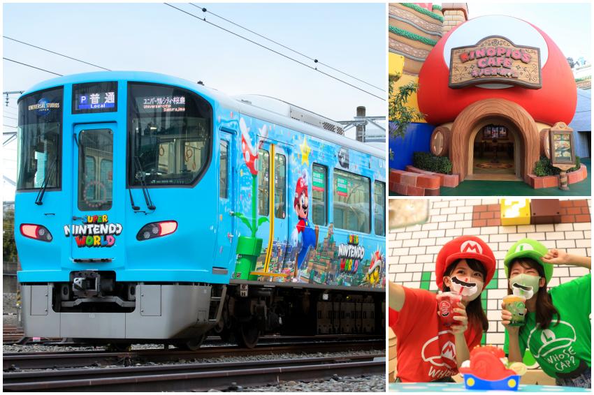 任天堂園區再度延後開幕!「瑪利歐主題電車」搶先上線,正式於西日本開跑!