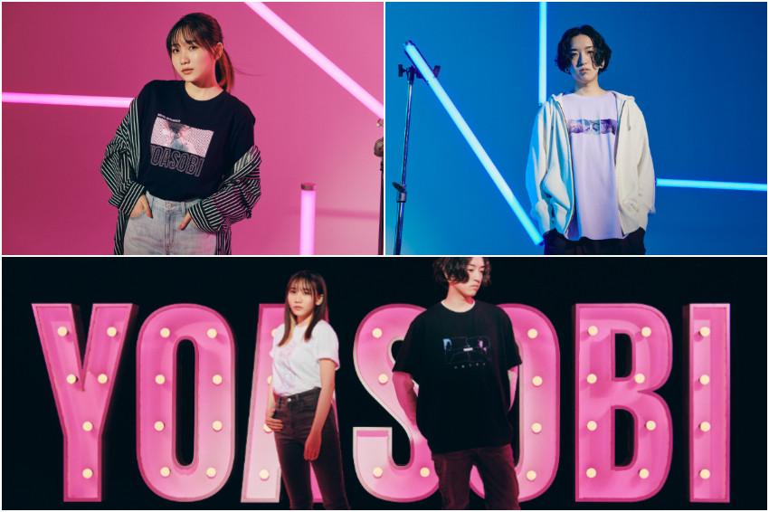 日本最夯人氣團體YOASOBI有聯名T啦!首次跨界合作獻給日本UNIQLO,推出「YOASOBI UT」