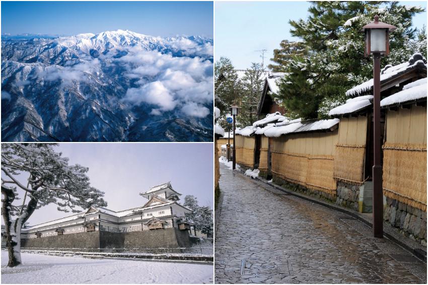 白雪粧點兼六園、金澤城,冬天就要到北陸石川享受銀白世界之美!