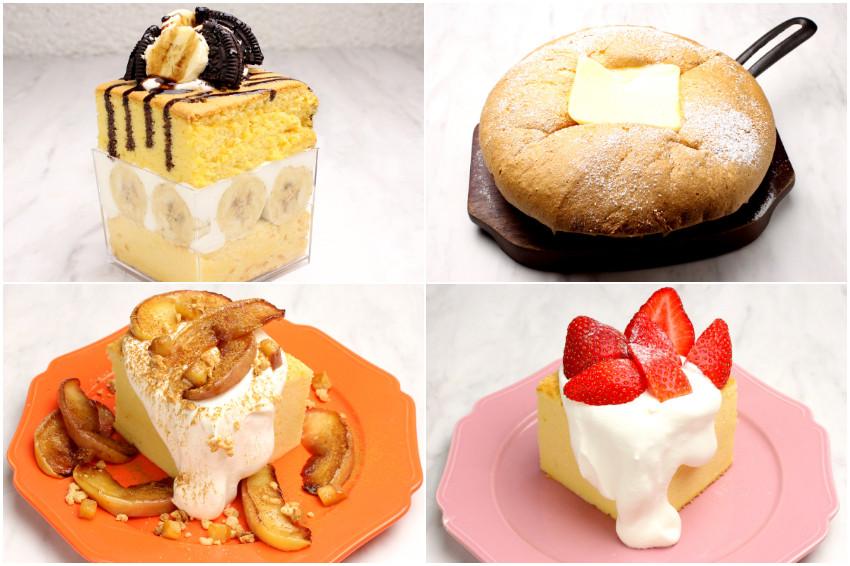 台灣古早味雞蛋糕再進化!樸素的古早味雞蛋糕到了日本化身變形金鋼,地表最狂巧克力×香蕉×Oreo×雞蛋糕!