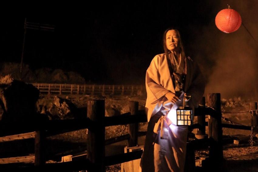 長崎景點/白煙嬝嬝、地表斑駁的「雲仙地獄」!夜間地獄巡禮導覽員扮幽靈帶路,體驗地獄試膽你敢嗎?