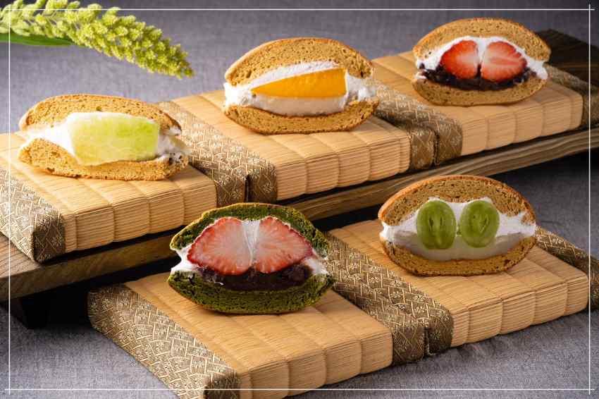 新鮮水果入料銅鑼燒,東京高級甜品專賣店「EBISU 青果堂」水果版銅鑼燒新鮮出擊!