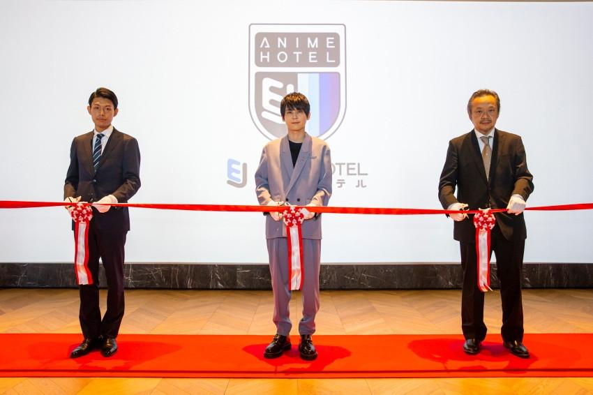 動漫主題飯店「EJ Anime Hotel」開幕邀來人氣聲優梶裕貴擔任嘉賓,還公佈驚喜小彩蛋!