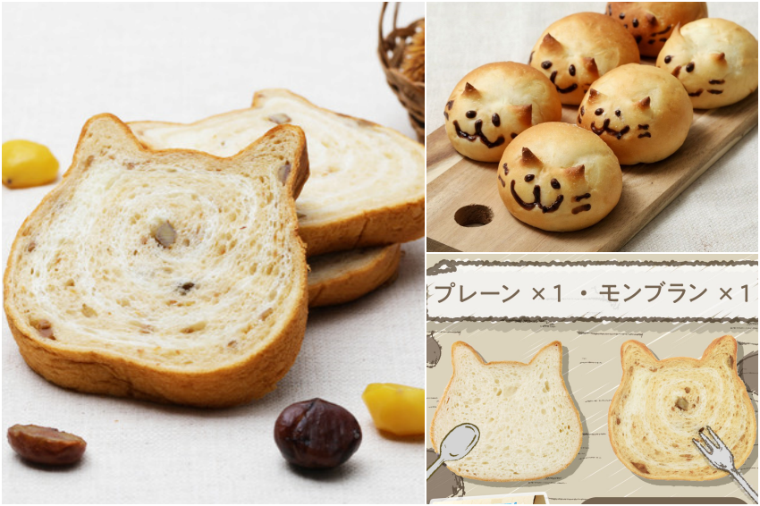 一年只能吃到這次!貓咪吐司推出秋季限定「蒙布朗吐司」&首次亮相醜萌「日本貓包子」滿足你的食慾之秋!