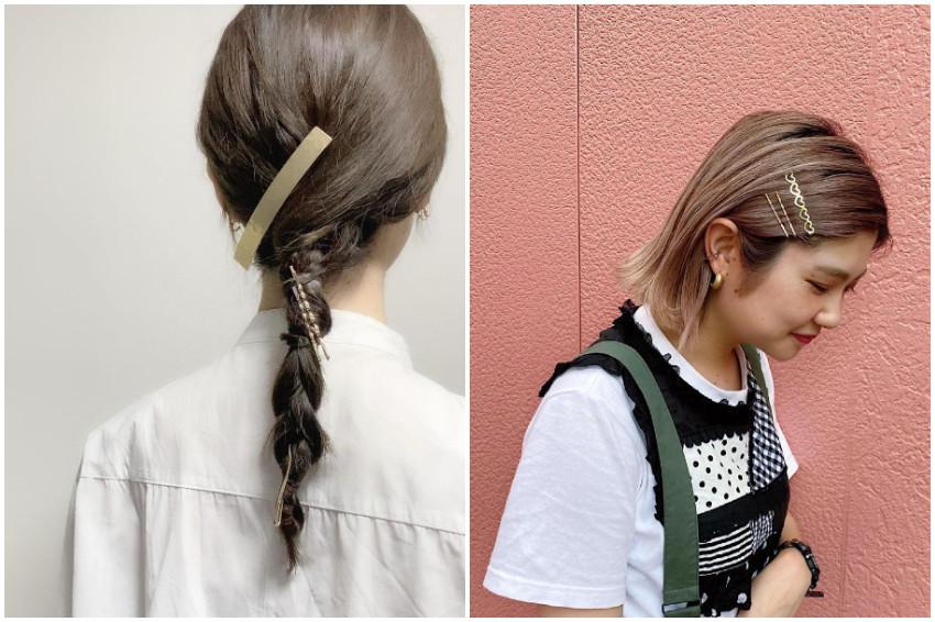 一秒打造日系髮型!透過「髮夾」營造微甜的女孩印象