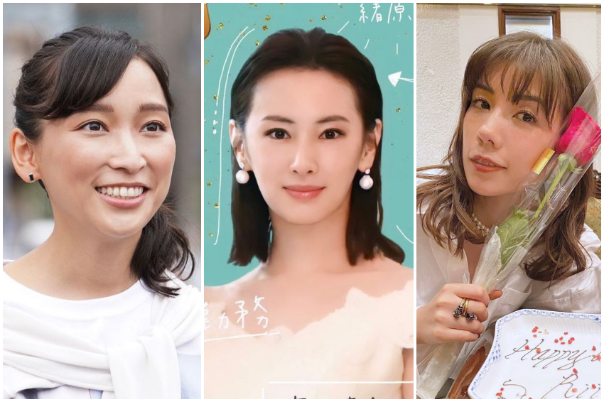 在日本最受好評的媽媽藝人Top7!看不出來生過小孩、產後人氣依舊高!