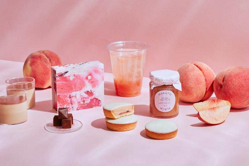 川中島白桃系列甜品夏季登場!鎌倉原生香氛巧克力品牌「MAISON CACAO」8月新作!白桃粉準備暴動!