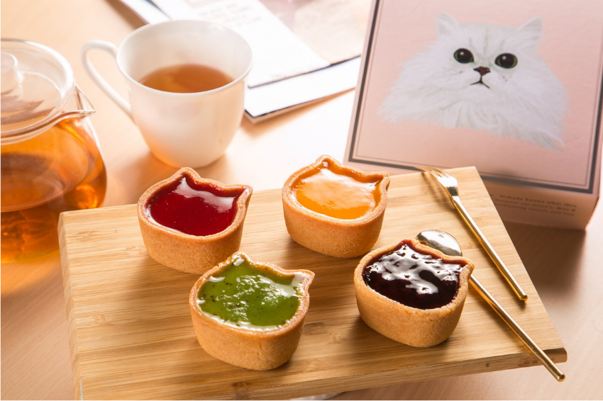苦等一年終於來台!日本「彩虹貓」4色果醬起司蛋糕優雅登陸,NEKO NEKO CHEESECAKE於台北信義正式駐點