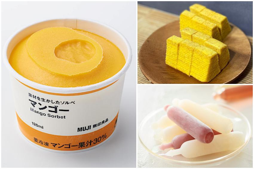 一上市就瘋搶!MUJI無印良品推出4項話題性夏季甜點,包裝簡約又攜帶方便!