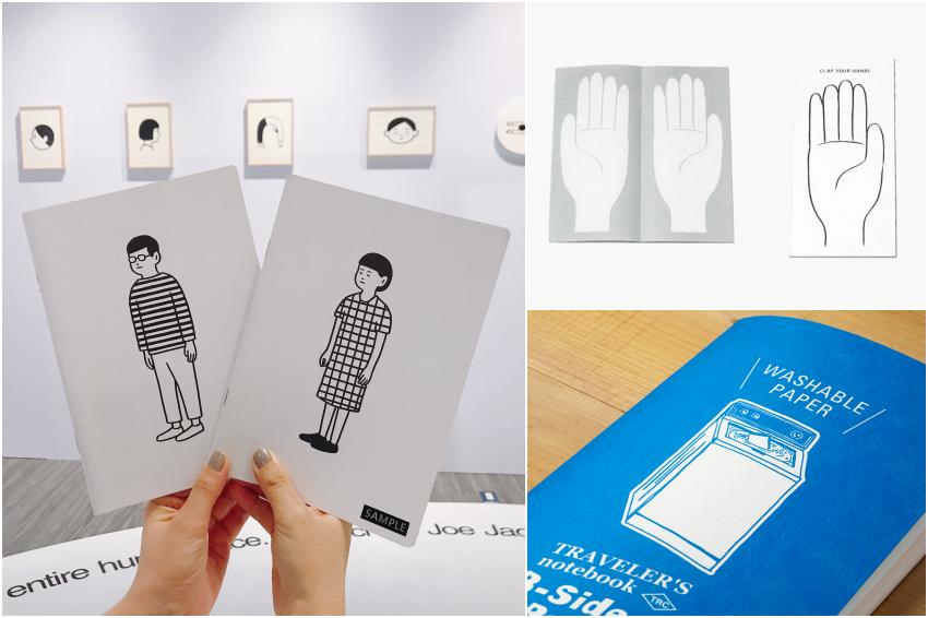 日本插畫家Noritake療癒領軍!盤點6款日本超夯「口袋筆記本」,翻頁會有拍手聲、下雨甚至不會濕!