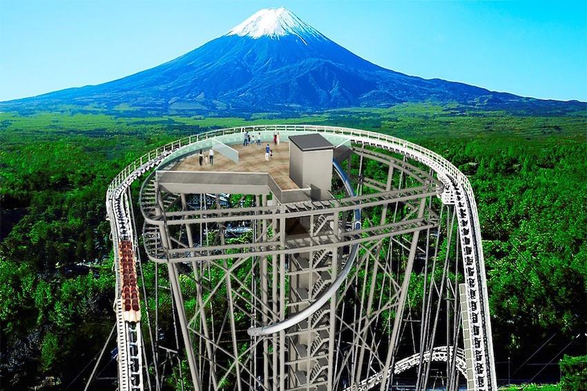 最刺激的富士山觀賞方式就在富士急樂園!全新絕叫系設施「FUJIYAMA塔」2021年夏天登場!觀賞富士山美景、挑戰膽量極限,一次滿足
