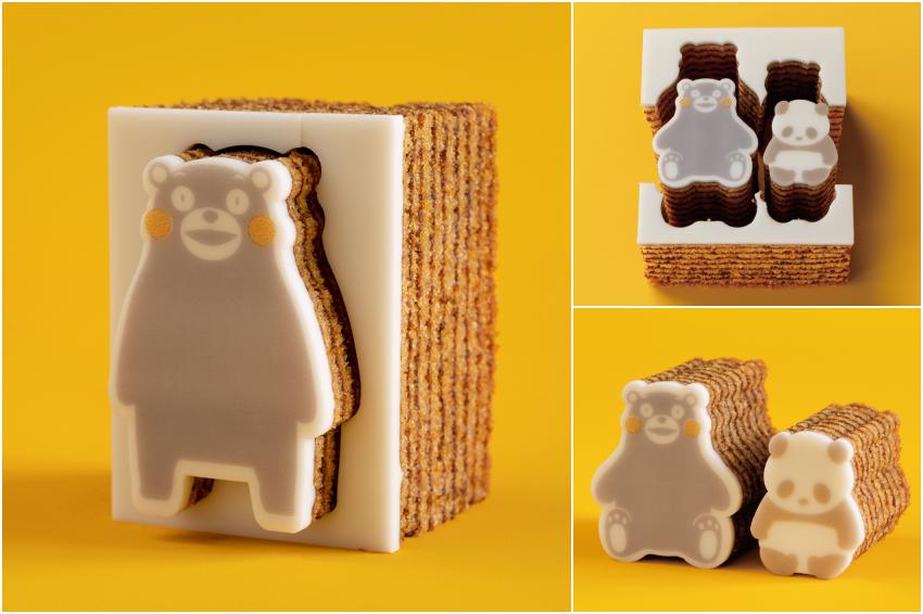 怎麼捨得吃!熊本熊攜手人氣伴手禮「Katanukiya」推出年輪蛋糕,吃下去莫名有罪惡感啊~