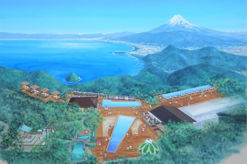 想一次欣賞富士山X駿河灣同框絕景就到全面翻新的「伊豆全景公園」!嶄新觀景平台、休憩茶寮多項設施帶給你最極致的觀景享受