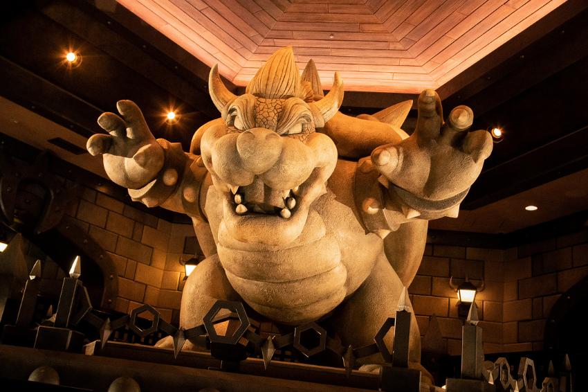 搶先看環球影城任天堂園區「庫巴城堡」超磅礡內部照片!2021年2月4日確定與大家見面!