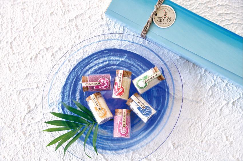 七彩星砂海鹽超吸睛!沖繩食創品牌「鹽彩Flavor Salt」2021年8月夏季新作!沖繩旅遊必買土產!全10種風味,準備包「味」啦!