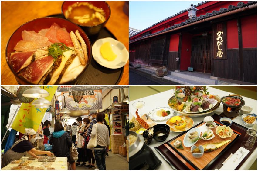 邊吃邊玩!到香川吃烏龍麵、做醬油,到高知逛市場、喝清酒,美食深度旅就要這樣玩