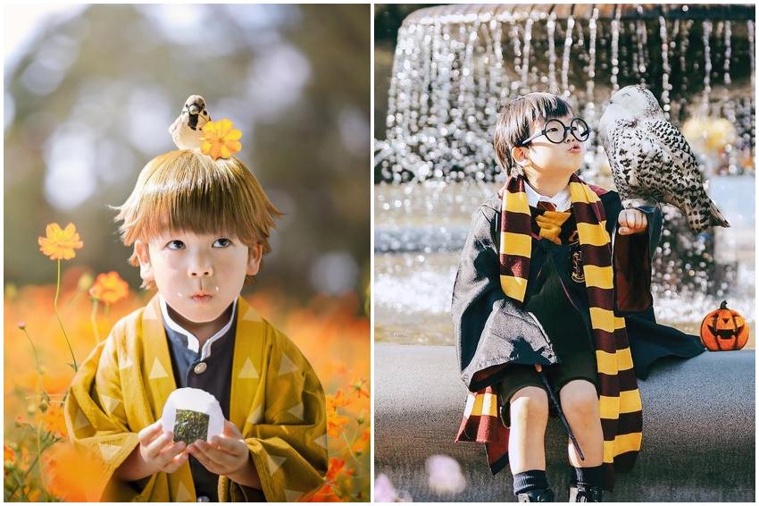 2020萬聖節最萌範本!日本媽媽這樣幫孩子cosplay,完成度之高嚇出歷年新高度!