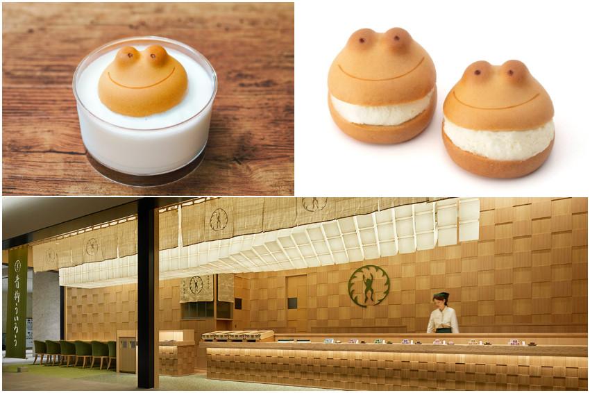 名古屋超人氣銘菓青柳總本家「青蛙饅頭」再進化!青蛙造型生乳包「Kerotozzo」期間限定登場,萌到捨不得吃!