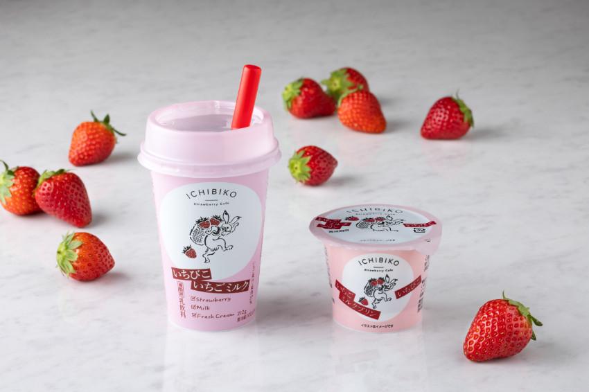 三軒茶屋超夯的草莓甜點專賣店「ICHIBIKO」進軍日本超商!獨家草莓牛奶、草莓牛奶布丁,日本7-11限定販售