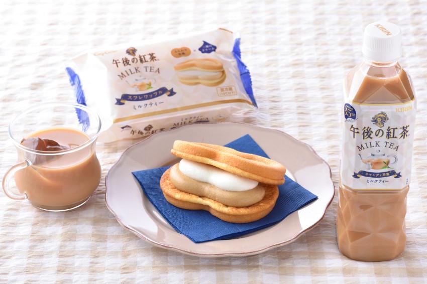 日本甜點老舖銀座 Cozy Corner與午後紅茶共推新商品!口感綿密、茶香濃厚「舒芙蕾鬆餅(午後紅茶 奶茶風味)」銀座 Cozy Corner店舖限定販售