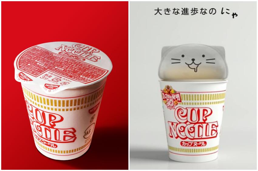 喵!日清杯麵「貓耳杯蓋」上市立刻引發話題,原來可愛背後具有環保意義!