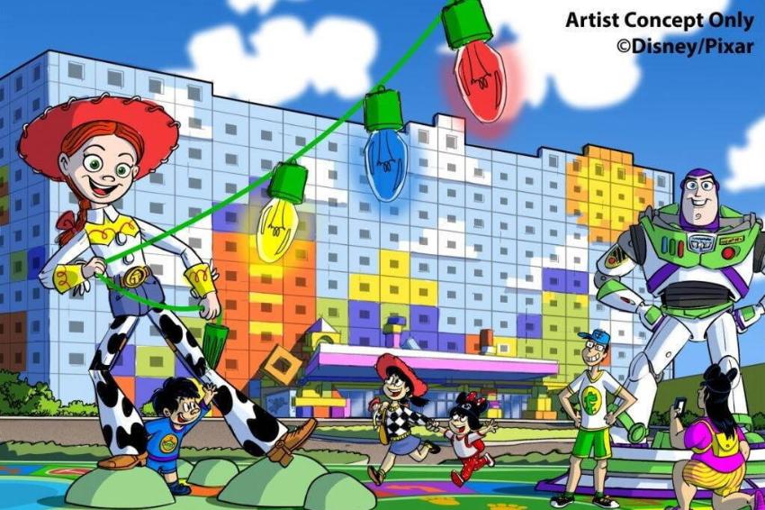 玩具總動員粉絲暴動啦!主題飯店預計2021年開幕,同時是迪士尼度假區內第一間「舒適型飯店」