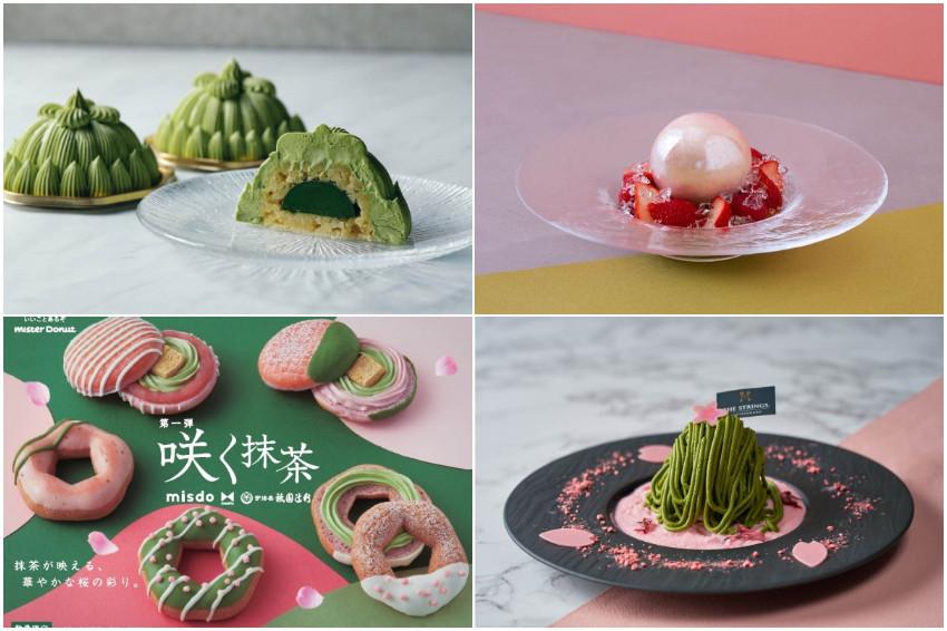 甜點控必收!2021日本全國櫻花X抹茶超夢幻甜點大集合!關東、關西必吃抹茶甜點一次網羅