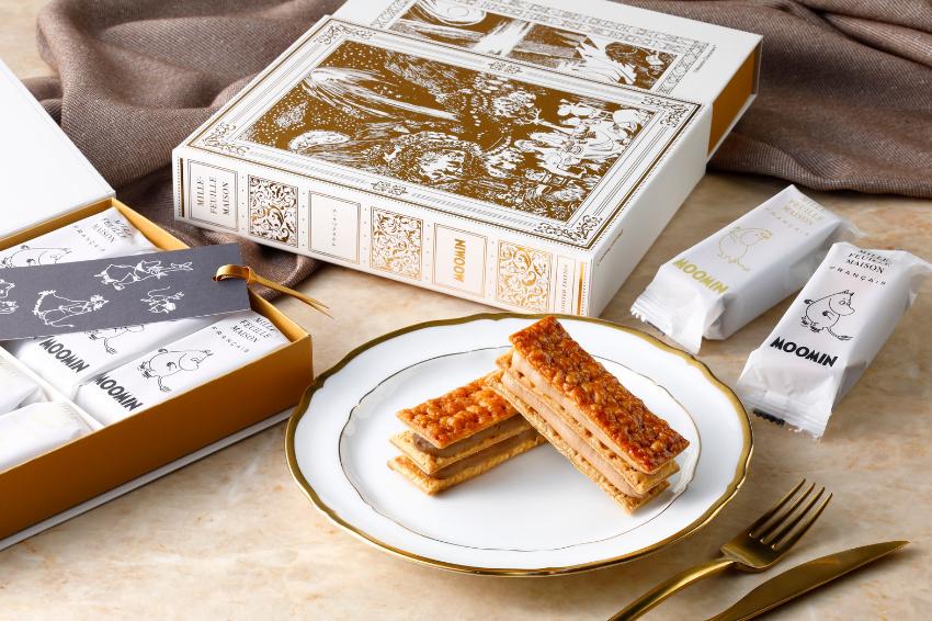 怎麼捨得丟系列!嚕嚕米攜手松屋銀座貴族級千層酥,推出超精美書本包裝,吃完甜點還能回收再利用!