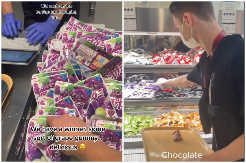 東京奧運/選手村裡有吃不完的日本零食?!外國選手PO零食山照,讓人超羨慕!