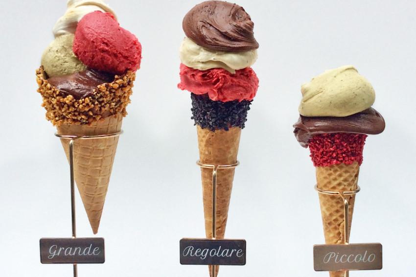 梅田全新必吃!義大利冰淇淋「Venchi」插旗大阪,冰淇淋透明玻璃窗絕美!梅田換車就來拍一張網美冰淇淋照吧!