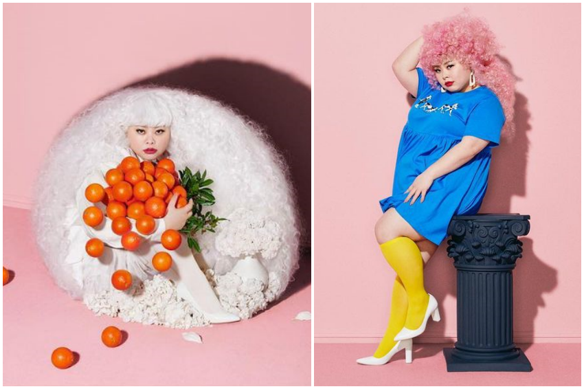 人在紐約依舊搞笑!渡邊直美為自創服飾品牌「PUNYUS」扮成各式壽司,演繹2021年春夏新裝