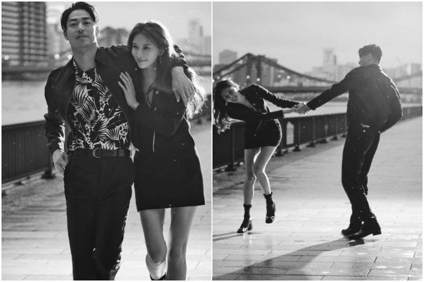 甜蜜放閃!志玲姐姐與放浪兄弟AKIRA結婚2週年,IG分享2人合照,日網友盛讚「美得像幅畫」!