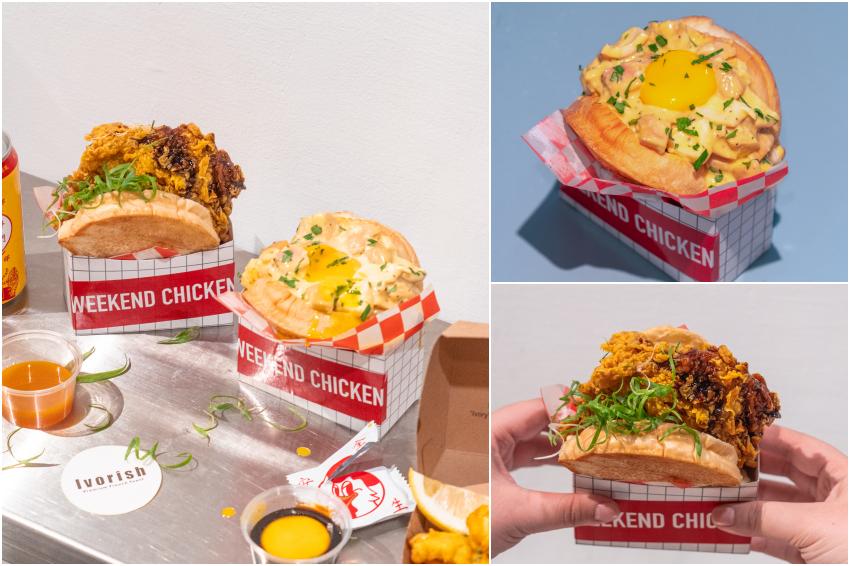 福岡最美味法式吐司「Ivorish」強勢登台!攜手知名炸雞店推出美味生吐司堡,一週一種口味不怕你吃膩!