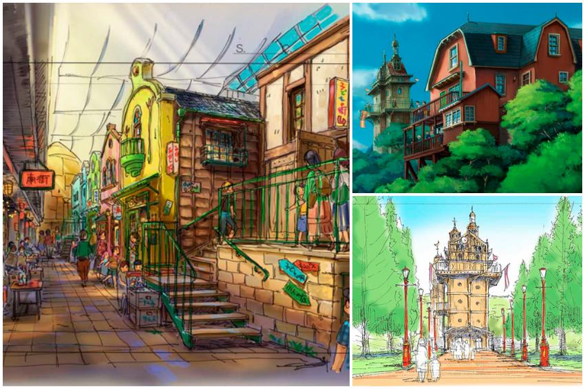 吉卜力公園將於2022年登場!宮崎駿經典作品《霍爾的移動城堡》、《天空之城》將真實呈現!