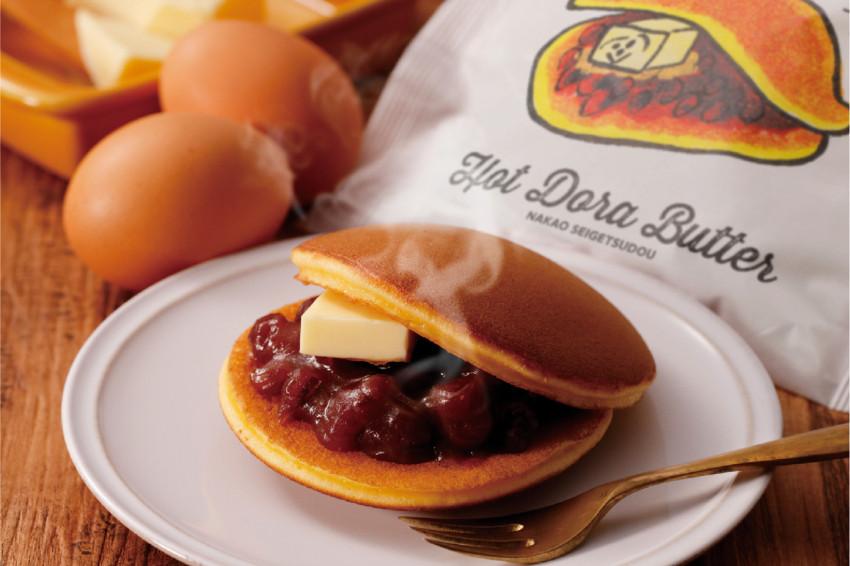 趁熱吃更美味!和菓子老舖推出的革命性甜點「Hot Dora Butter」可加熱銅鑼燒,LAWSON正式開賣