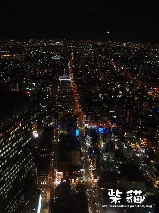 【名古屋】隱藏在辦公大樓裡的超美夜景:::柴貓IN【Sky Promenade】