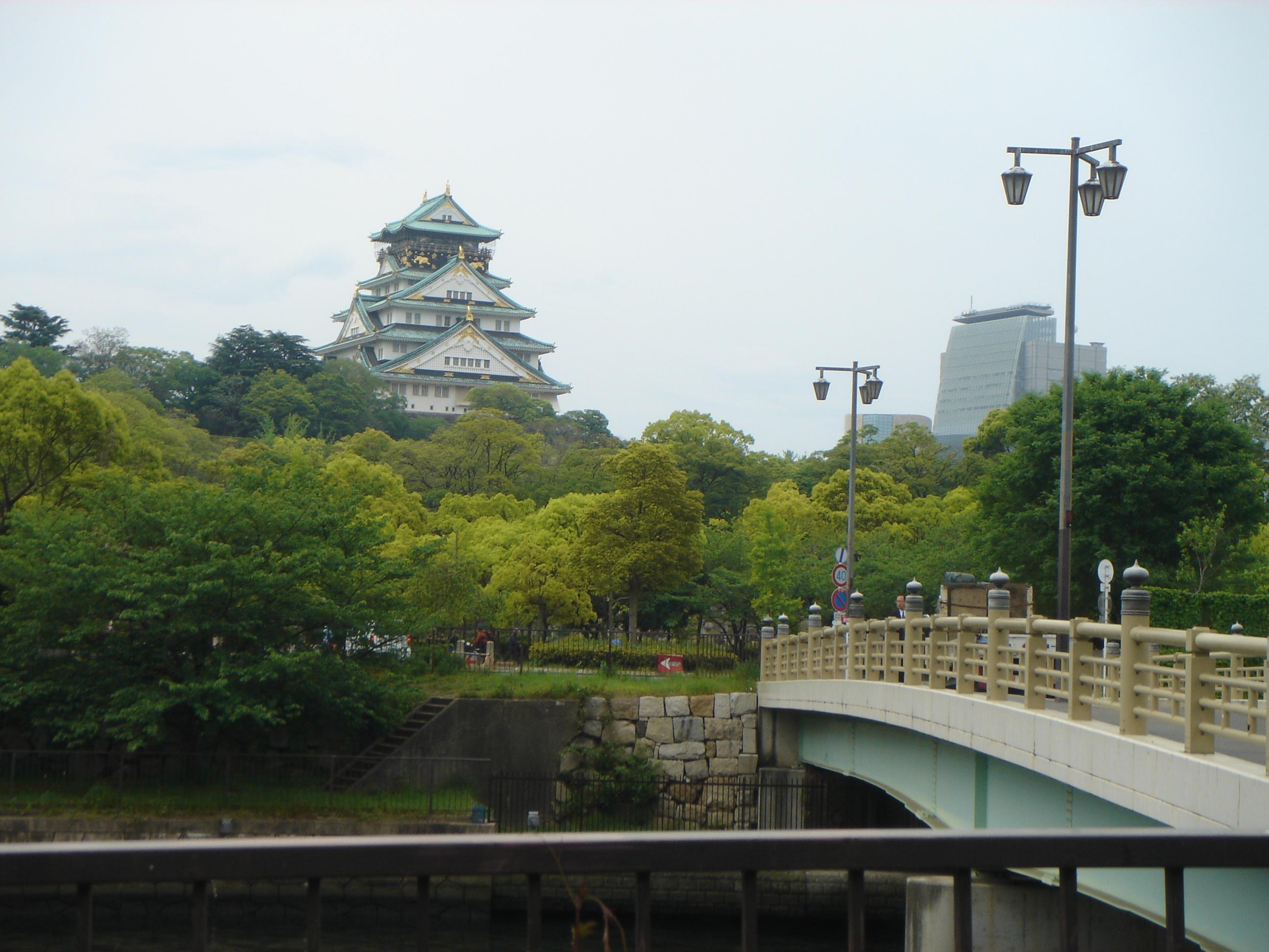 京都夏日風物詩|八天七夜自由行之十一:大坂城與道頓掘與關西機場